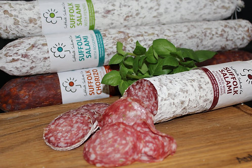 Suffolk Salami - Red wine and peppercorn