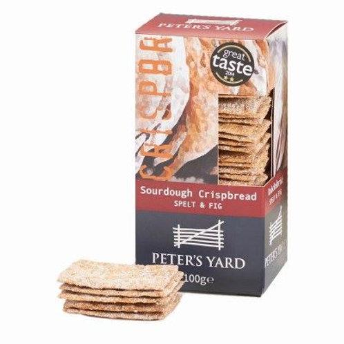 Peter's Yard - Spelt & fig crispbread
