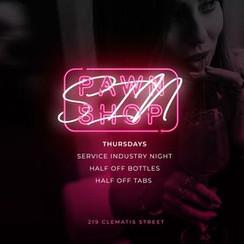 Sin Service Thursday