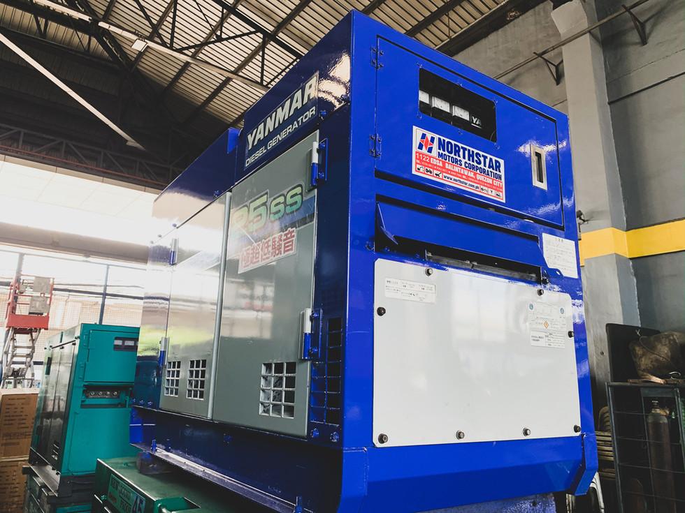 Yanmar AG25SS Generator