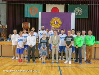 バスケットボール教室を開催