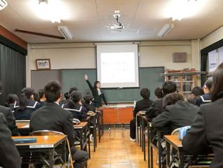 岐阜県立岐阜聾学校へ訪問