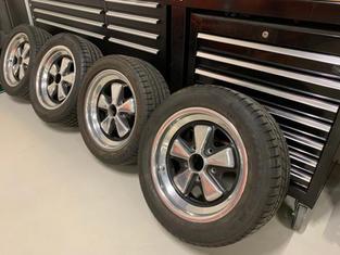 """Set Porsche Fuchs velgen 16"""""""