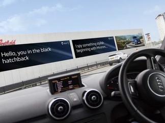 » Royaume-Uni : Ocean Outdoor et Renault collaborent à une première campagne utilisant une technolog