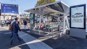 JCDecaux et Métropole installe un réseau publicitaire digital à Paris pour Viparis