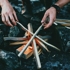 Campfire Structure Building