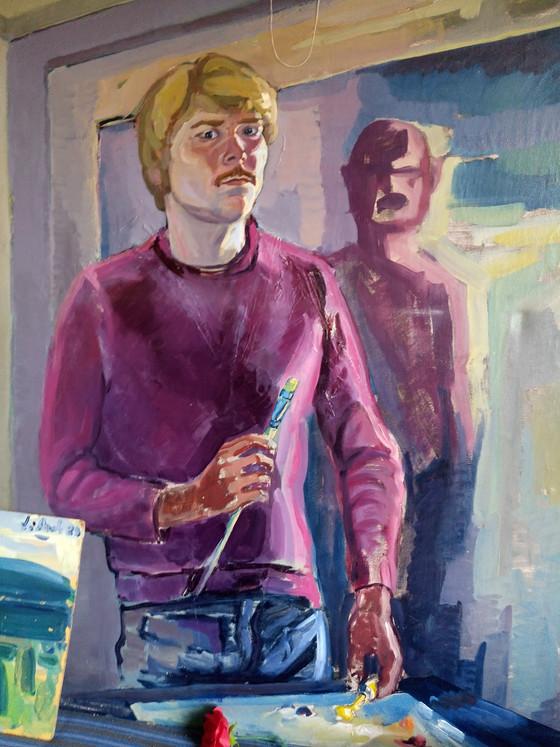 70- Luvun maalauksia (joku 80-luvultakin)