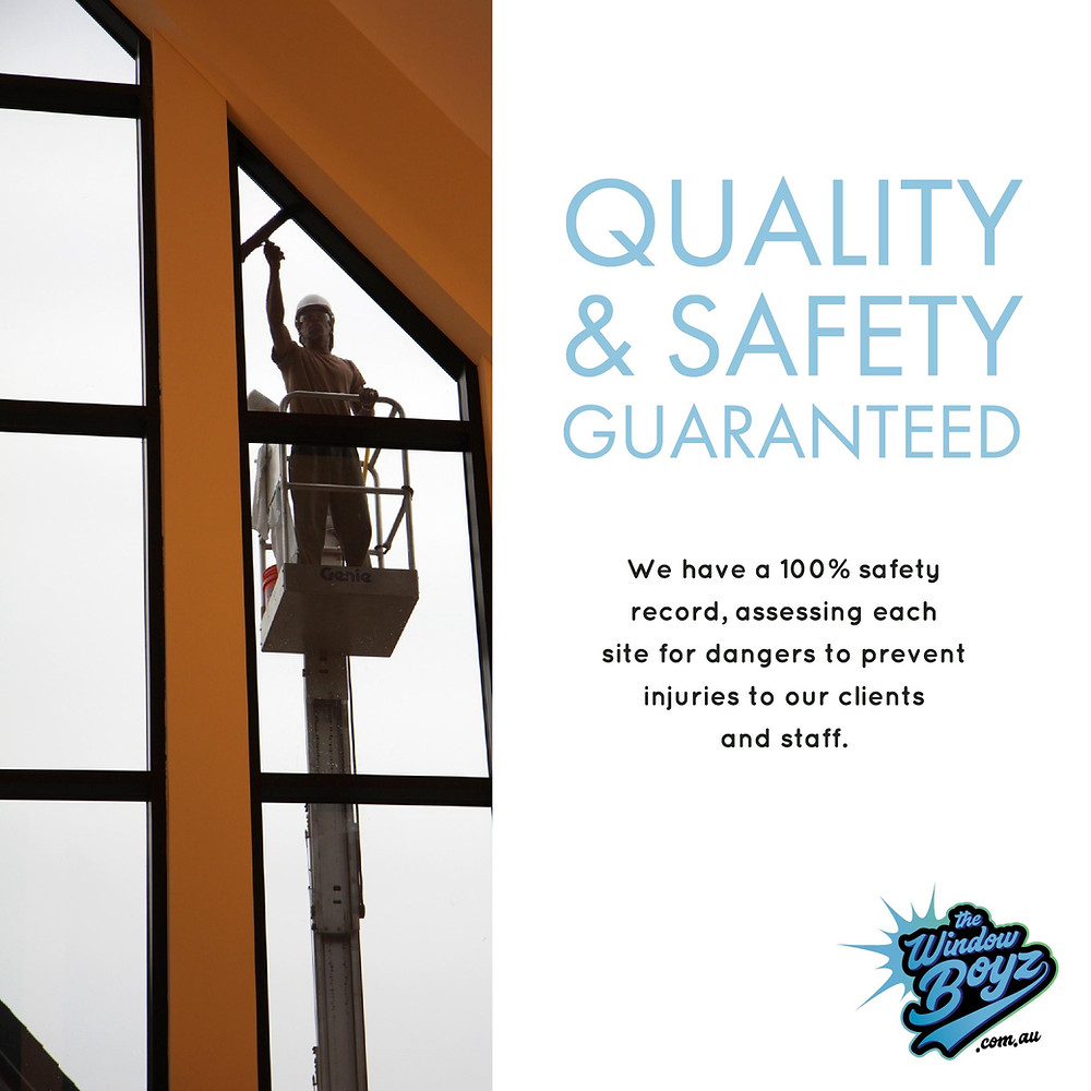We have taken many steps to minimise injury and accidents when we visits a residential or commercial premises.