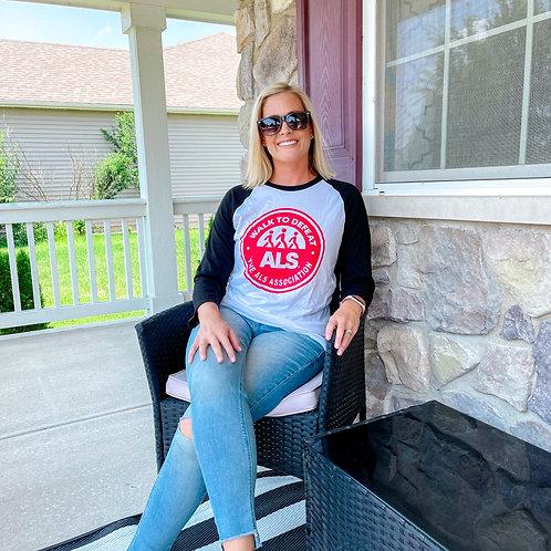 Walk to Defeat ALS Raglan Tee