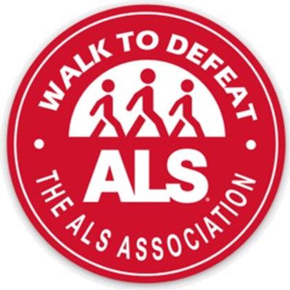 Walk to Defeat ALS Sticker