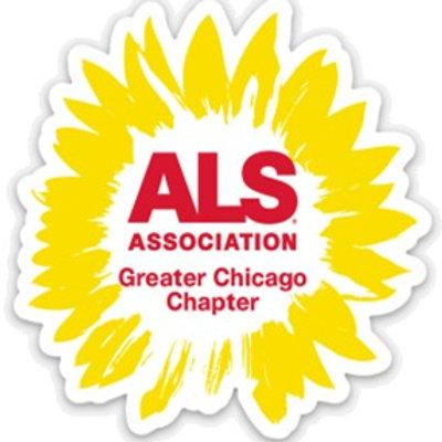 The ALS Association Sunflower Sticker