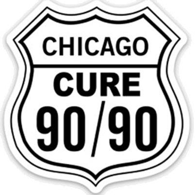 Cure 90/90 Sticker