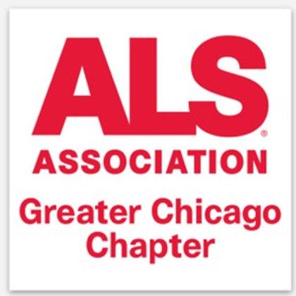 The ALS Association  Chapter Sticker
