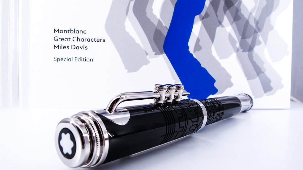 Montblanc Great Characters Edition. Miles Davis