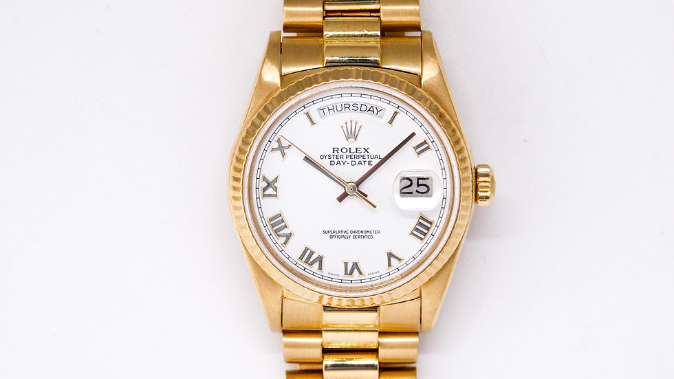 ⦁ Rolex Day-Date Presidente ⦁
