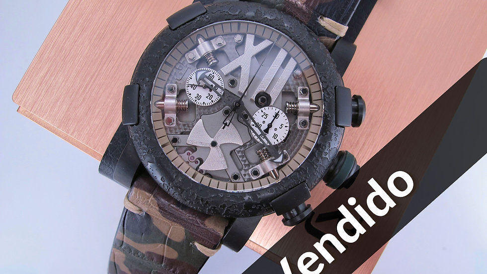 ⦁ Romain Jerome Steampunk Chrono Camo ⦁
