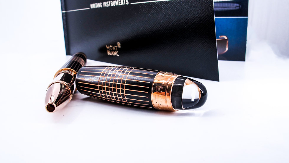 Montblanc StarWalker Rose Gold-Plated Metal