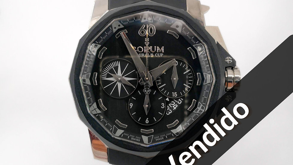 ⦁ Corum Admirals Cup Black Hull 48 ⦁