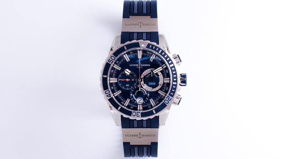 ⦁ Ulysse Nardin Marine Diver Chronograph Blue Dial ⦁