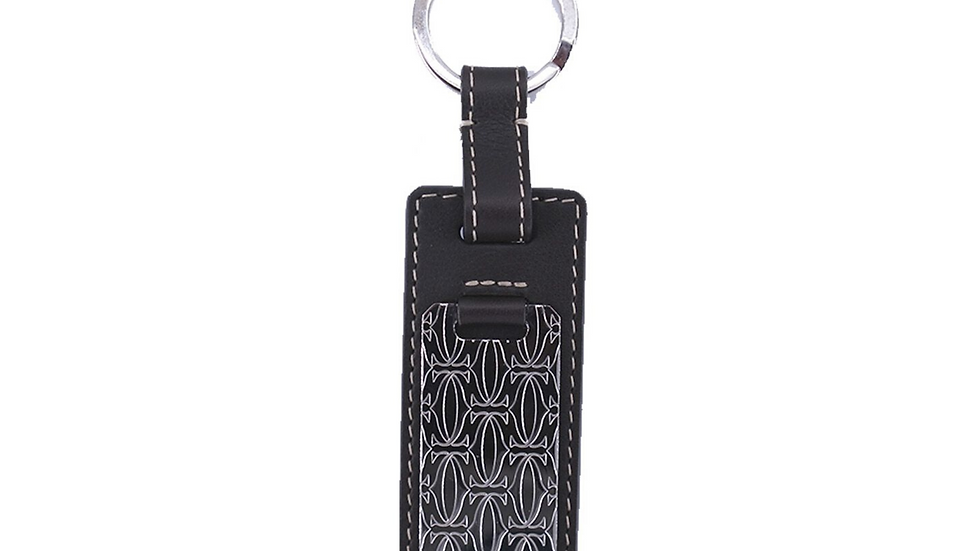 Cartier Leather Key Ring