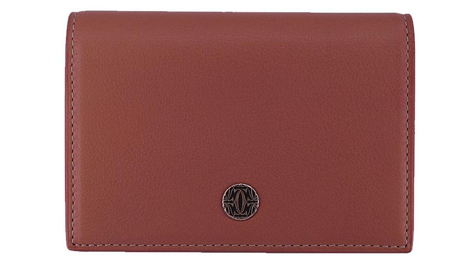 Cartier Card Case Melon Leather