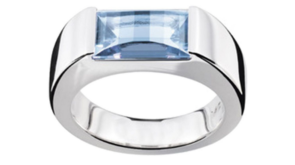Montblanc Female Jewellery Boheme Collection Ring with Paramount Cut Topaz