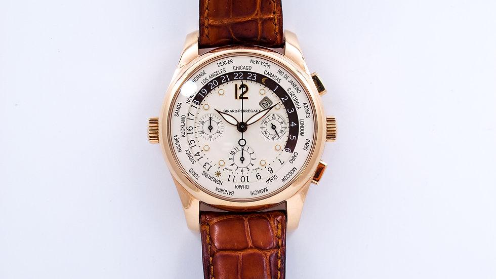Girard Perregaux World Time Chronograph
