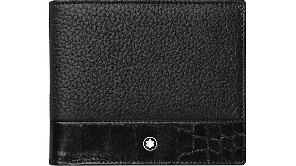 Montblanc Meisterstück Soft Grain Wallet Black 6 CC