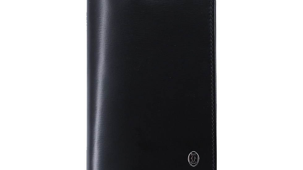 Cartier Pasha do Cartier Card Case Black Leather