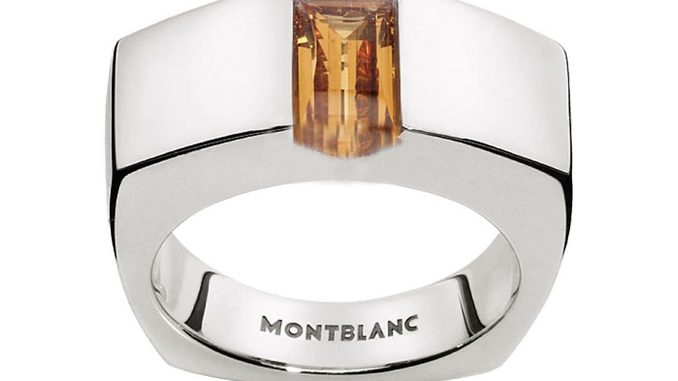Montblanc Boheme Collection Ring Fragment of Lights Golden Citrine