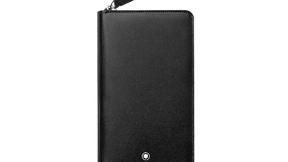 Montblanc Vertical Wallet 14CC Zip Around Small