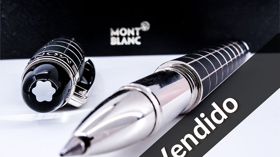 Montblanc StarWalker Metal & Rubber Platinum-Plated Pen