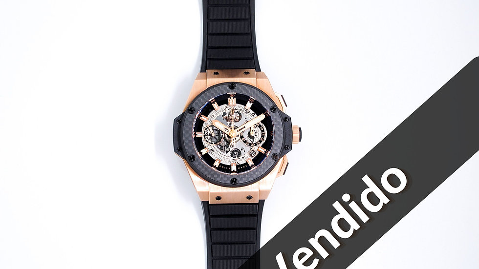 ⦁ Hublot UNICO King Power Carbon ⦁