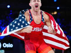 Dake Wins 3rd World Title!