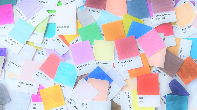 ZIG clean color by Kuretake Color Chart