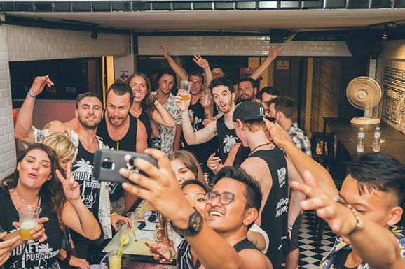 Phuket Bar Crawl: Underground Party Tour
