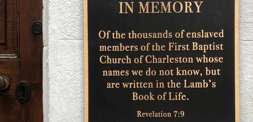 Dedication of the Memorial Plaque