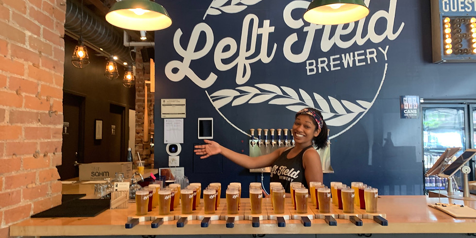 Sud Salutations at Left Field Brewery