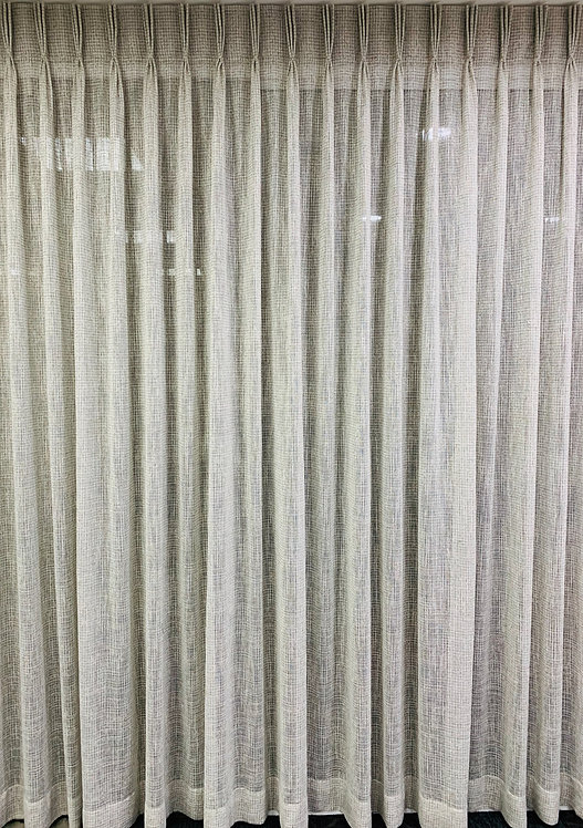 HAND PLEATED AMERICAN STYLE CURTAIN
