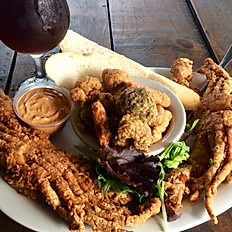 Soft Shell Crab Dinner