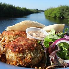 Cajun Café Crab Cake Dinner