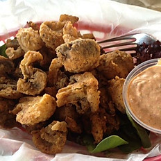 Fried Fresh Mushrooms