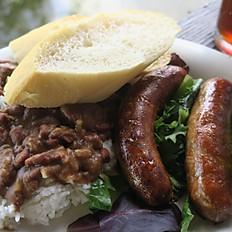 Poche's Sausage Link Dinner
