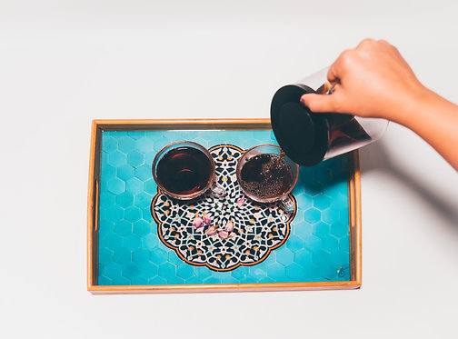 Persian Design Wooden Tray