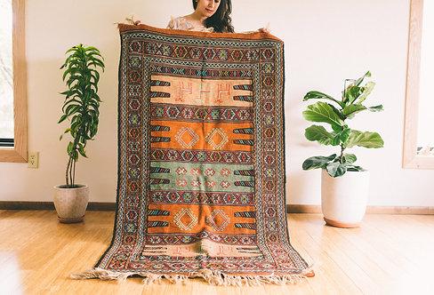 Baharak - Handmade Persian Wool Kilim