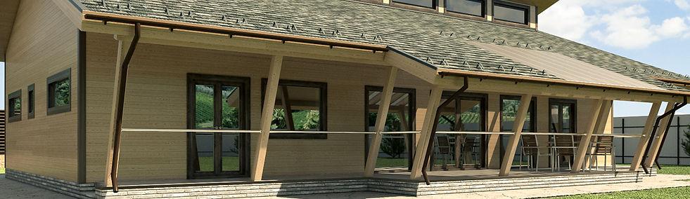 Дизайн проект дома, проектирование домов