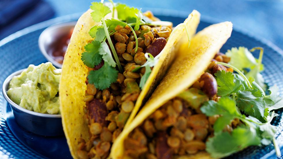 Lentil Tacos (Large)