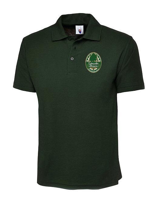 Pique Polo Shirt (Green)