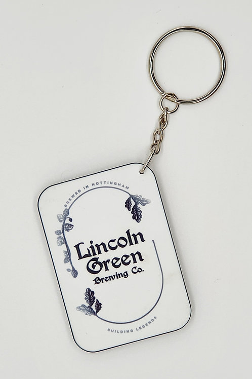 Lincoln Green Key Ring