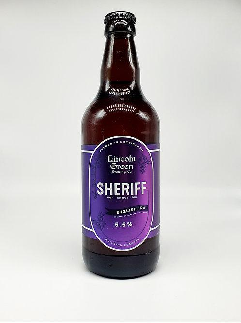 Sheriff 5.5% English IPA